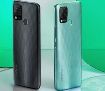 سعر ومواصفات موبايل/هاتف/جوال/تليفون والامكانيات/الشاشه/الكاميرات/البطاريه انفنيكس هوت 10 اس Infinix Hot 10s