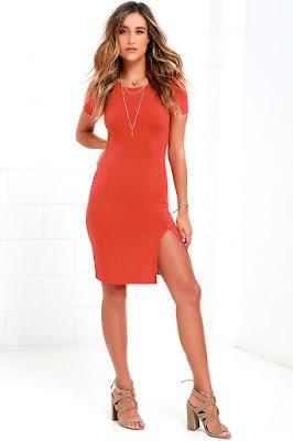 diseños de Vestidos Rojos