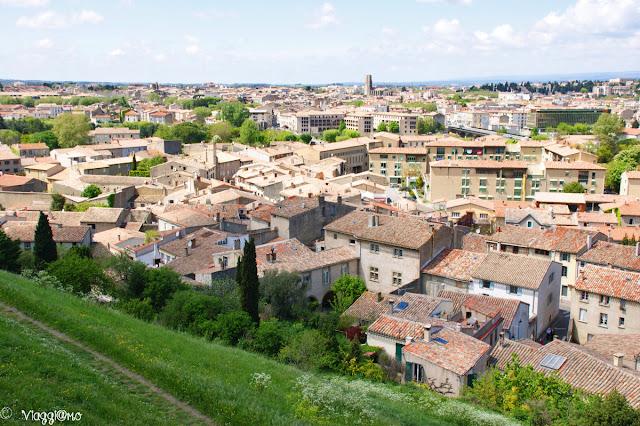 Panoramica dall'alto della Città Bassa