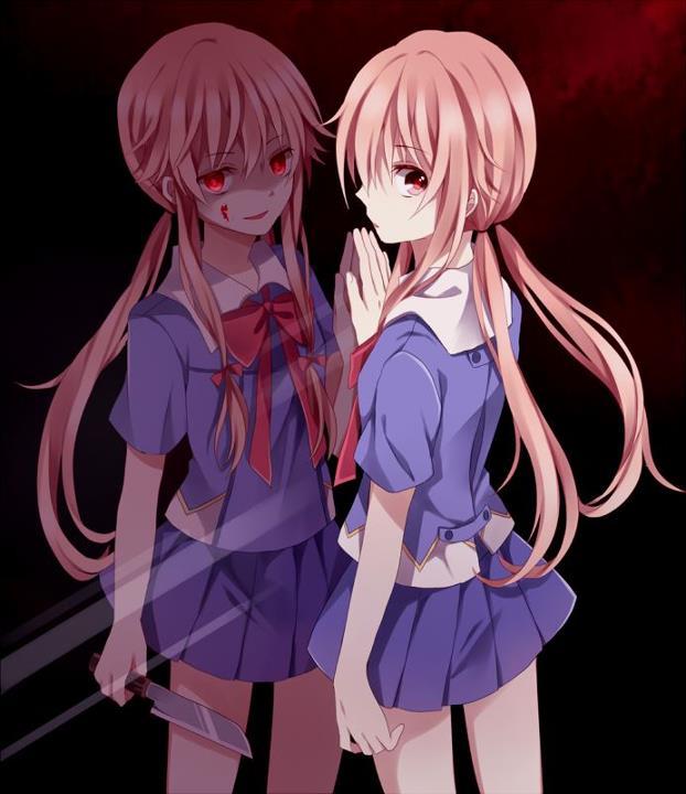 yandere anime girls mirai - photo #14