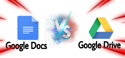 Pеrbеdааn Aplikasi Gооglе Docs dеngаn Google Drive