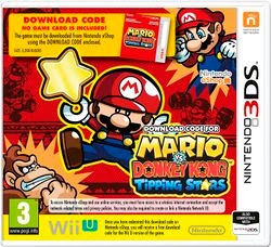 Mario Vs Donkey Kong Tipping Star, 3DS, Español, Mega, Mediafire