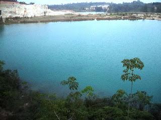 Danau Batu air Musi banyuasin