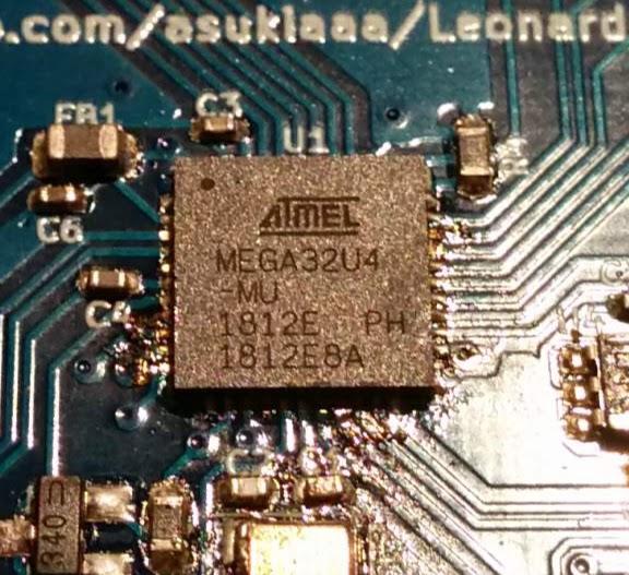 Atmega32u4にArduino Leonardoのブートローダーを書き込んでみた