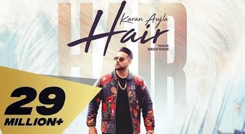 hair lyrics karan aujla