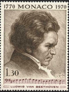 Monaco 1970 Beethoven Issue