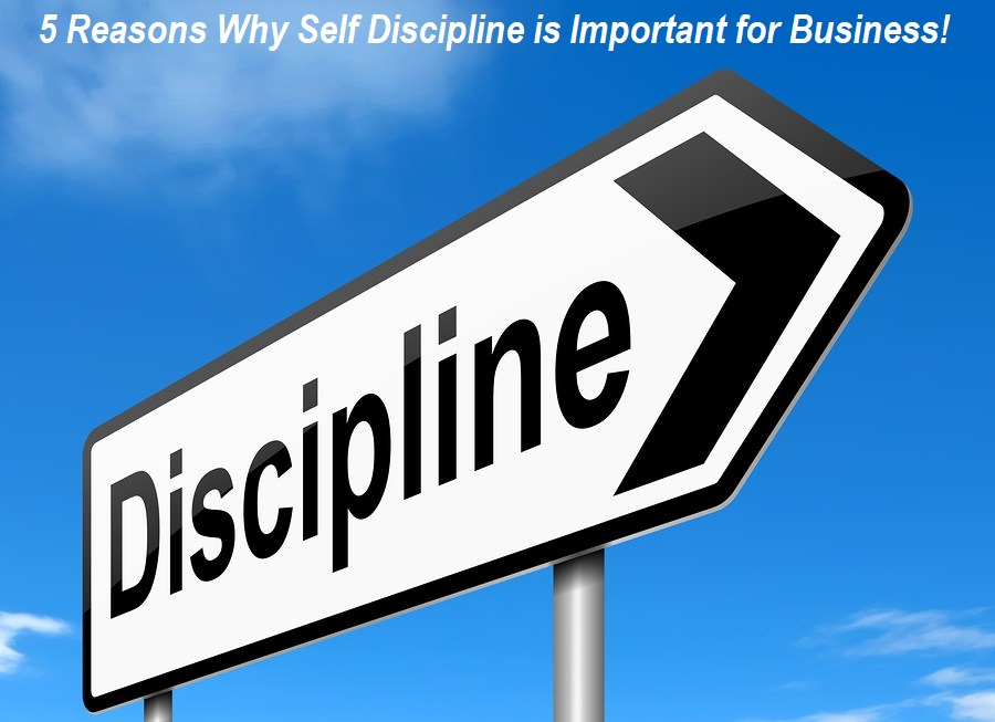 Why Self Discipline is Important for Business