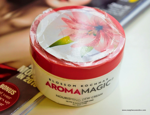 Blossom Kochhar Aroma Magic Nourishing Dew Cream Review