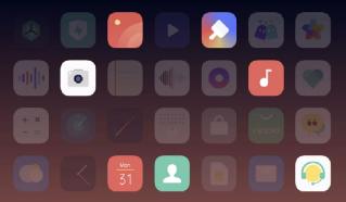 OPPO Reno 4's Color OS7.2
