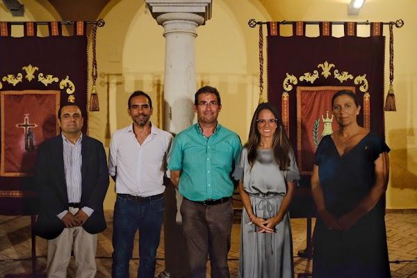 Javier Pérez y Dani Franco, pregonero y cartelista de la Semana Santa 2020 de Ayamonte