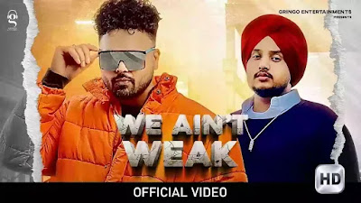 Checkout New Song We Ain't weak lyrics penned and sung by Bhagat Singh ft Jassi Banipal