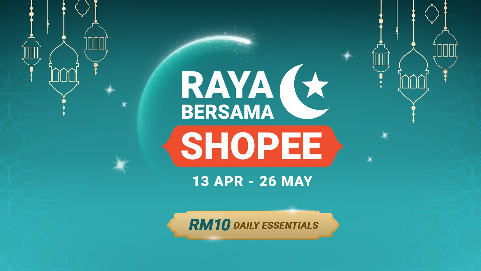 [NEWS] GEAR UP FOR RAYA FROM THE COMFORT OF YOUR HOME BY SHOPEE MALAYSIA!