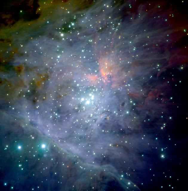 Nebulosa de Orion no infravermelho