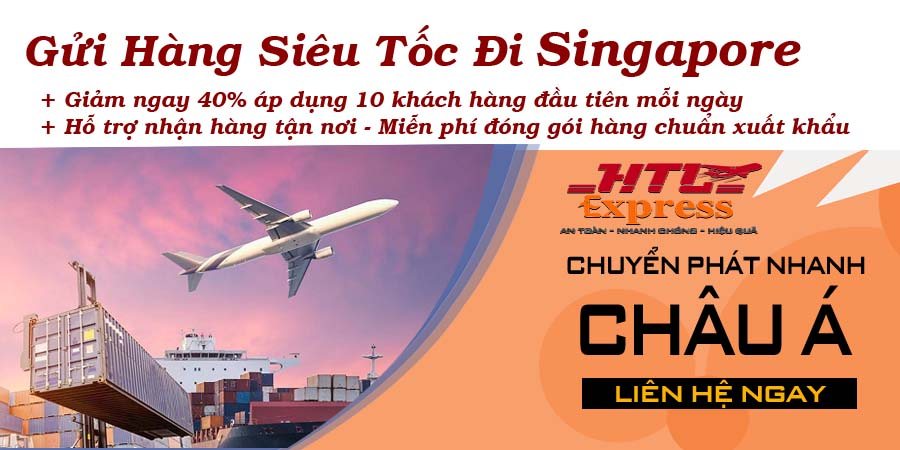dịch vụ gửi hàng đi nước ngoài đi Singapore