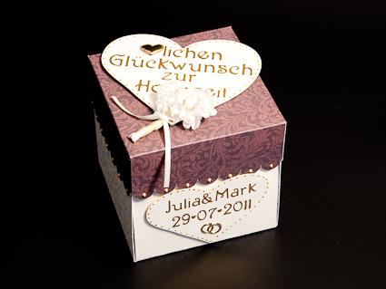 My Inspiration Eine 3 Stockige Hochzeitstorte In Einer Box