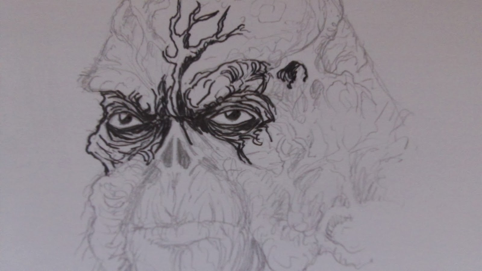 drawing swamp thing