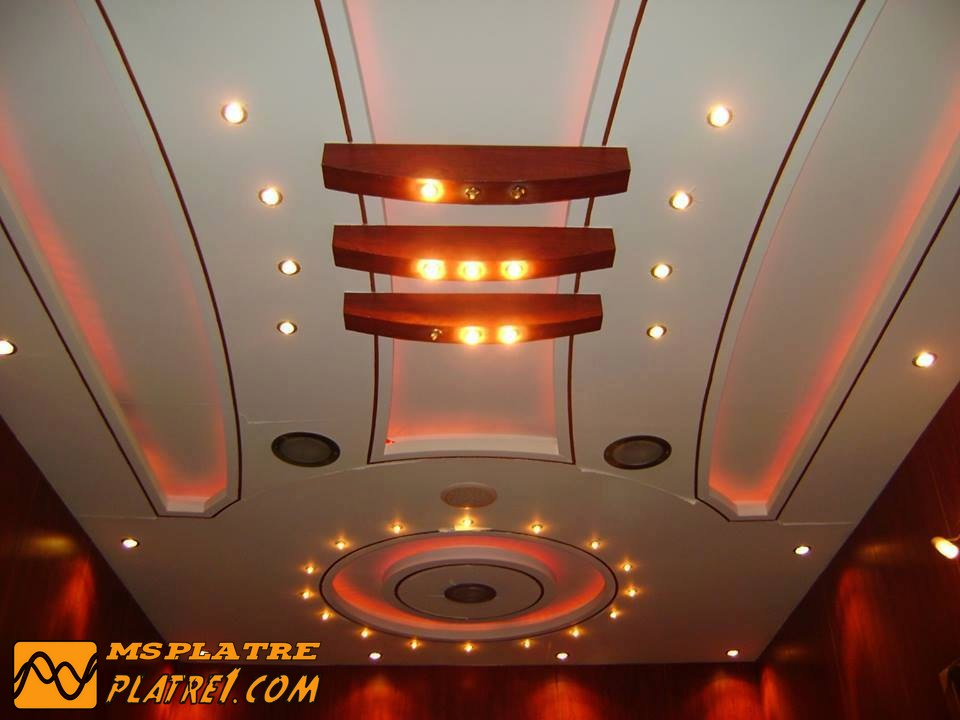 Pl tre municipale marocain for Model faux plafond salon