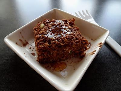 Healthy No-Bake Oatmeal BROWNIES ecipe