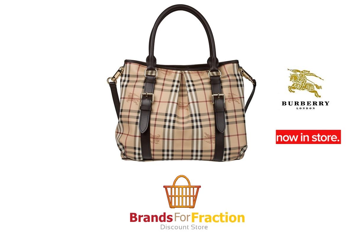 Brands For Fraction  Burberry Haymarket Check Northfield Tote Bag ... afe667cf45112