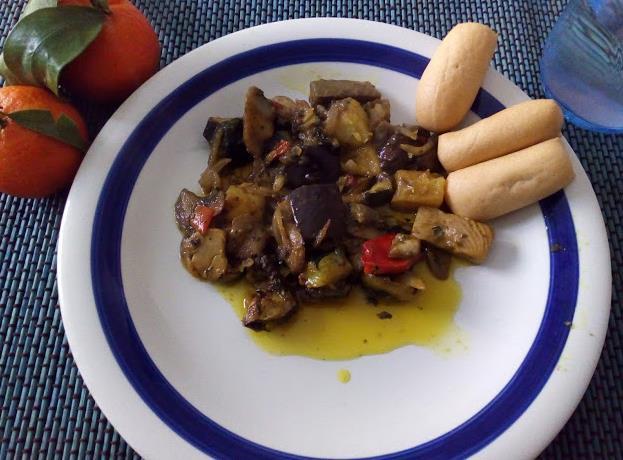 Ricetta con funghi e verdure