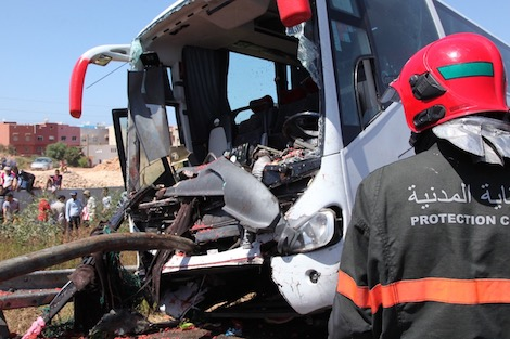 12 قتيلا و2090 جريحا في حوادث السير خلال أسبوع بالمدن