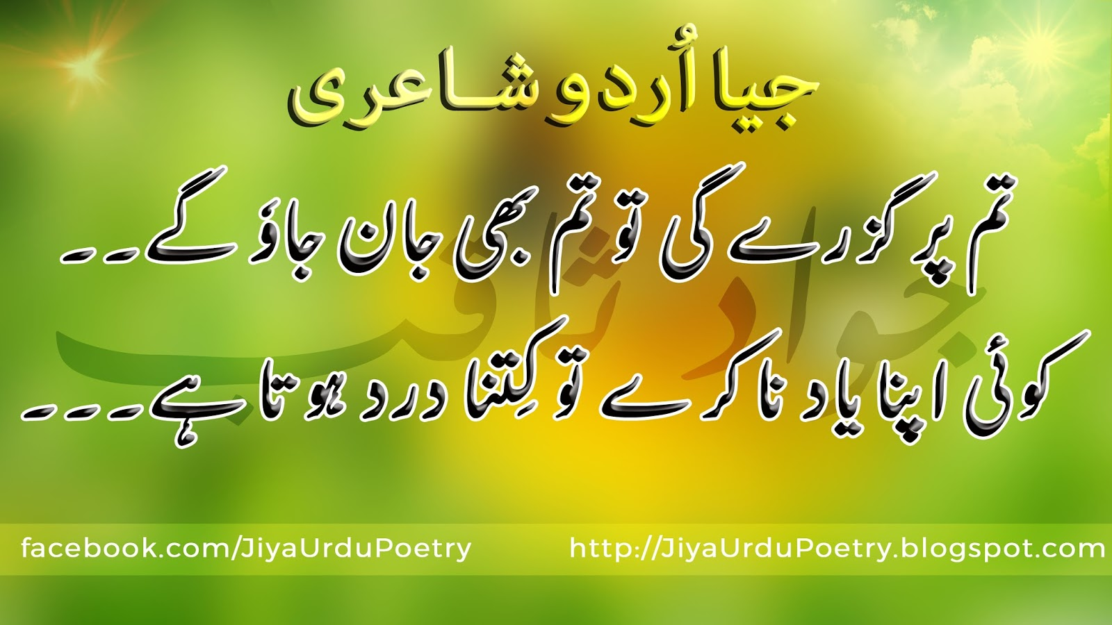 Urdu Shayari Poetry