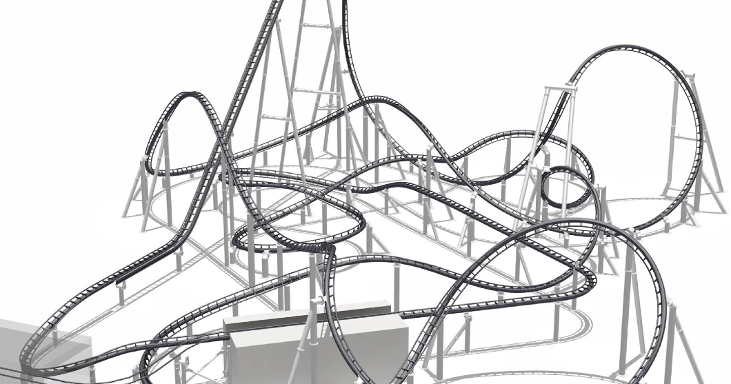 newsplusnotes vekoma teases new bermuda blitz looping. Black Bedroom Furniture Sets. Home Design Ideas