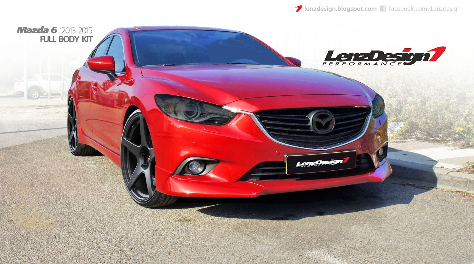 lenzdesign performance israel car tuning custom works mazda 6 2013 2016. Black Bedroom Furniture Sets. Home Design Ideas
