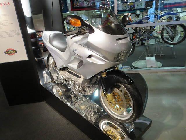 Morbidelli V8 Motorcycle Barber Museum
