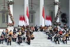 Ini Daftar Menteri dan Anggota Kabinet Indonesia Maju 2019-2024