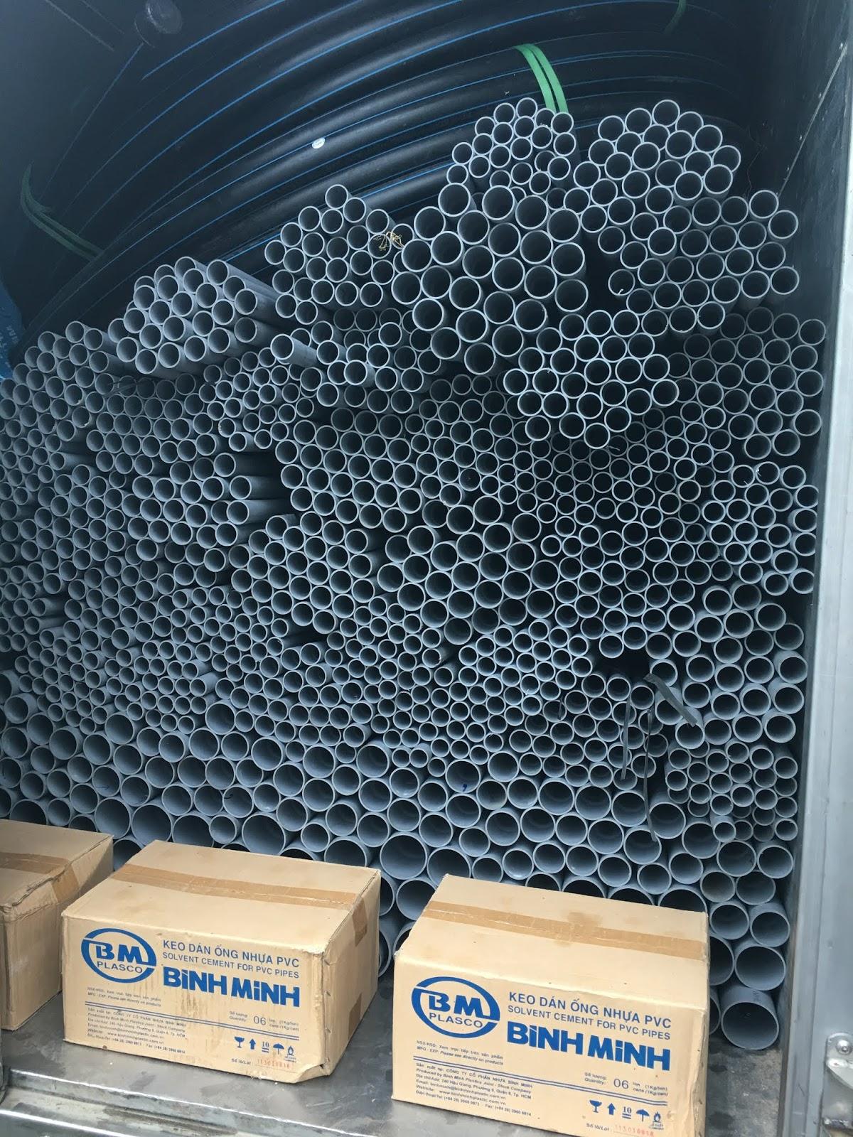 ống nhựa bình minh 2018 2019