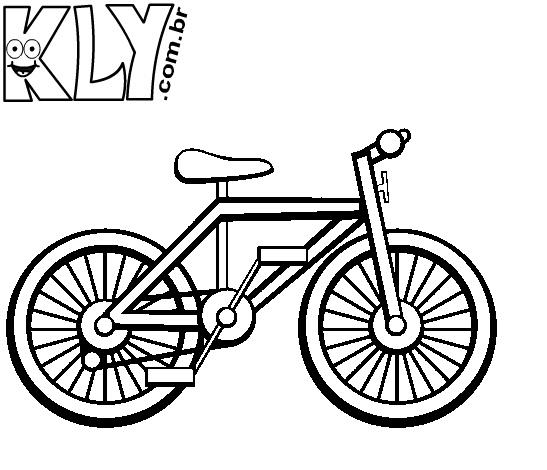 Desenhos De Bicicleta Para Colorir Danizinha Alfabetizacao