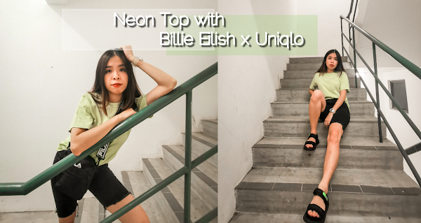 Neon Top with Billie Eilish x Uniqlo