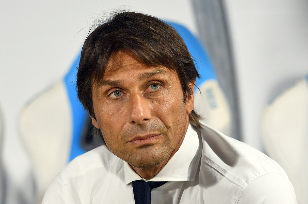 Antonio Conte head coach of FC Internazionale looks on during the Serie A match between SPAL and FC Internazionale at Stadio Paolo Mazza on July 16, 2020 in Ferrara, Italy