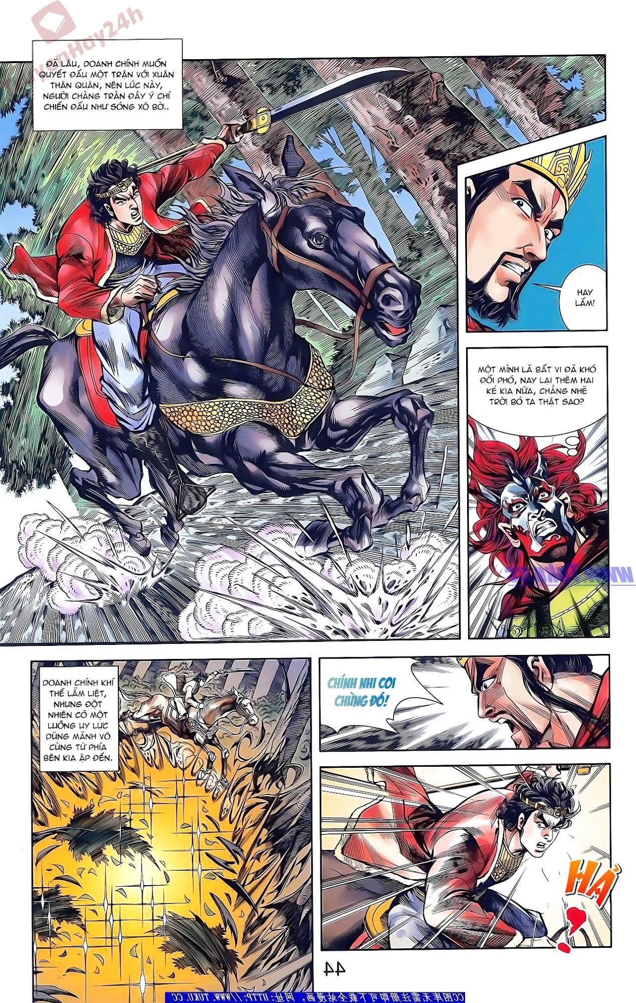 Tần Vương Doanh Chính chapter 48 trang 29
