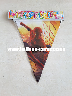 Bunting Flag Spiderman