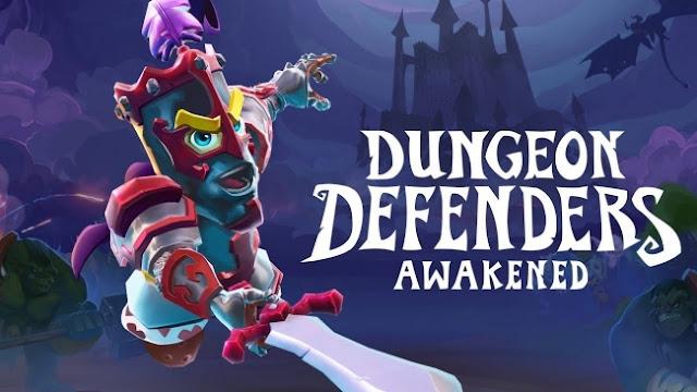 Graças à ajuda dos fãs, Dungeon Defenders Awakened chegará ao PS4