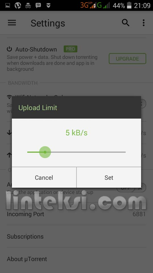 download location utorrent android