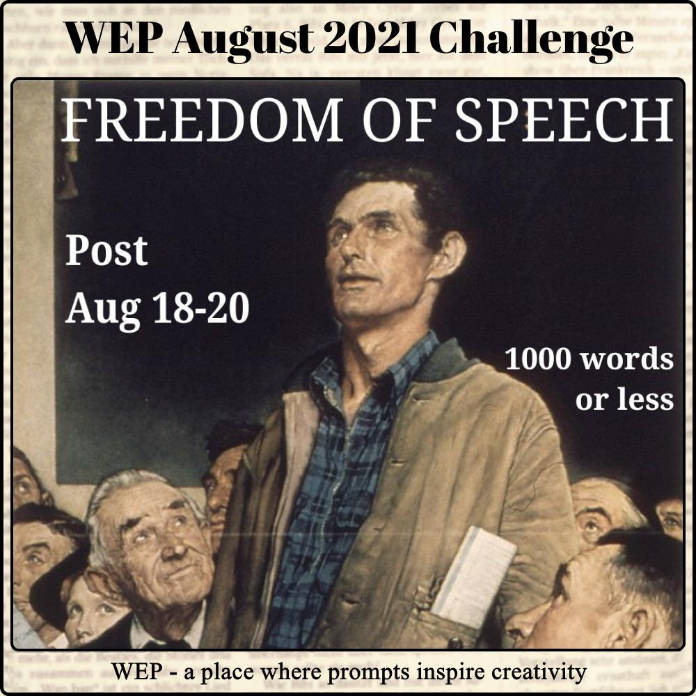 #WEP 2021 - FREEDOM OF SPEECH! #wepff