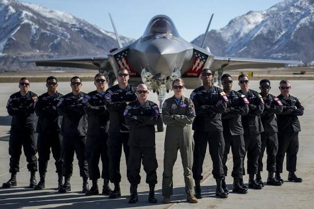 USAF F35 Demo 2021 schedule