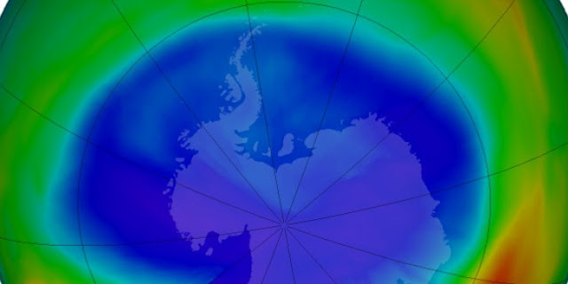 Συρρικνώθηκε το 2019 η τρύπα του όζοντος