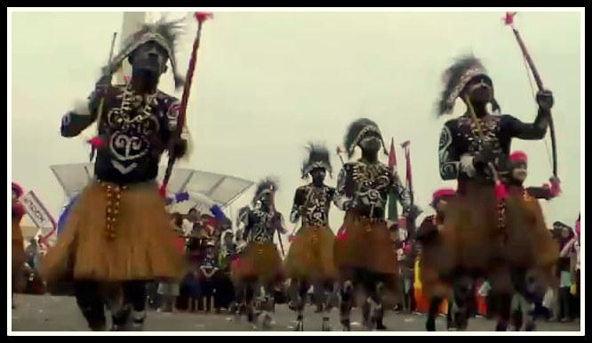 Tari Perang Tarian Tradisional Dari Papua Barat Negeriku Indonesia
