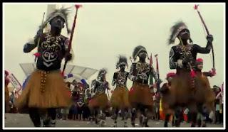 Tari Perang Tarian Tradisional Dari Papua Barat