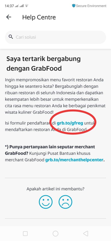 Syarat Pendaftaran Grab Food Info Dan Alamat Kantor Grab