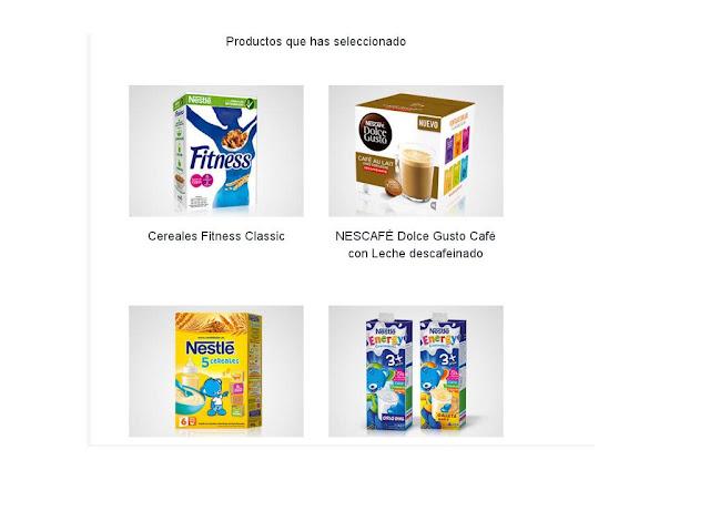 Productos para seleccionar de SmileBox Junio