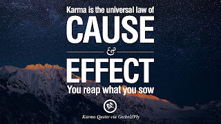 karma the law of universe