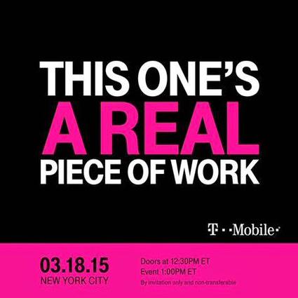 "T-Mobile's next event is ""a real piece of work"""