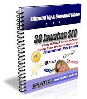 E-book tentang 38 Jawaban SEO