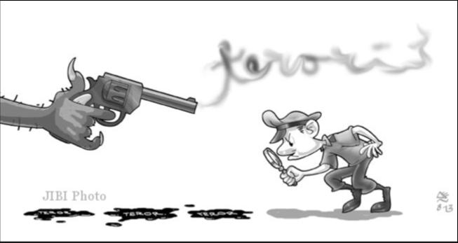 Karikatur Teroris