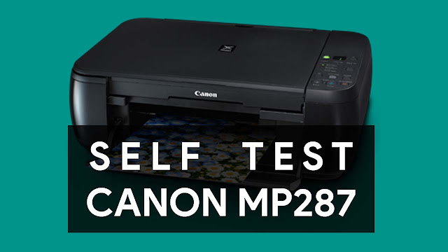 Cara Manual Print Head Cleaning dan Nozzle Check Canon MP287
